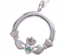 Large Silver Claddagh