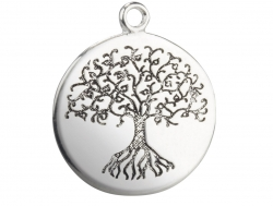 Tree of Life silver pendant-Small