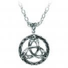 Celtic Circle Pendant-Silver