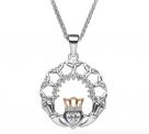 Claddagh Trinity Pendant-Silver