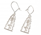 Small Ogham Earrings-LOVE