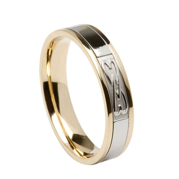 2 Hearts Entwined Wedding Ring