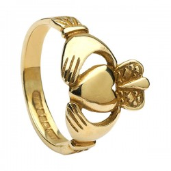 Ladies Claddagh Ring Heavy 13.4mm(Crown)