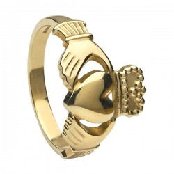 Gents Claddagh Ring Heavy