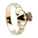 Celtic Rope Claddagh Ring-Gents