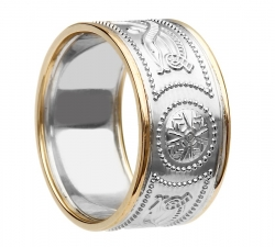 Celtic Ring-Silver and Gold