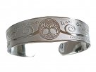Large Tree of Life Bangle