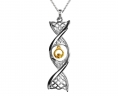 Claddagh DNA Necklace