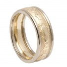 Claddagh Band. yel.gold/wh.trim