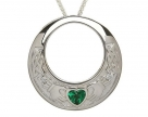 Claddagh Round Shaped Pendant