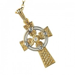 Large Celtic Cross .set x1 diamond