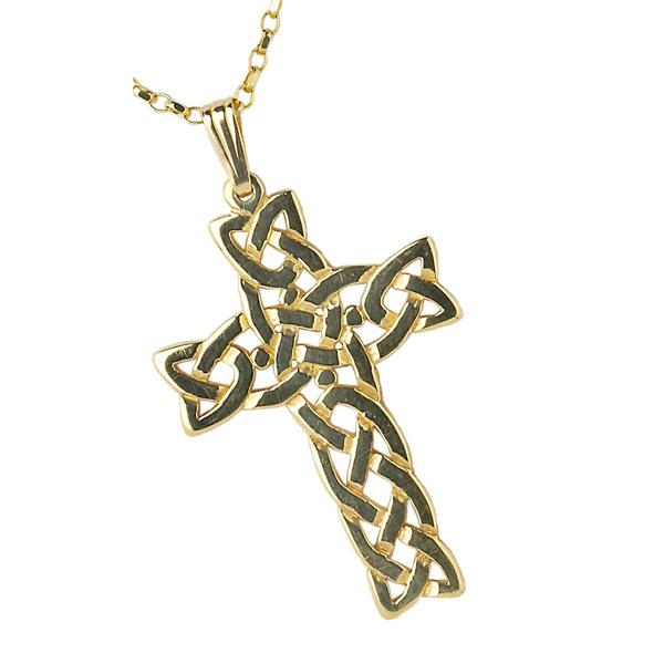 Filigree celtic cross pendant irish jewel handmade irish jewelry filigree celtic cross lgehvy chain aloadofball Image collections