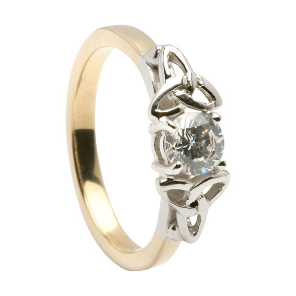 Engagement Rings Knot: Celtic Engagement Ring
