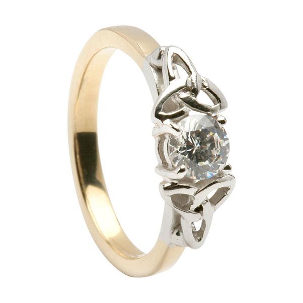 Celtic Engagement Ring Irish Jewel
