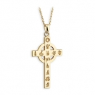 History of Ireland Mini Cross Pendant