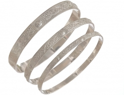 Celtic Shield Bangle