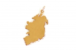 Map Of Ireland Rose Gold