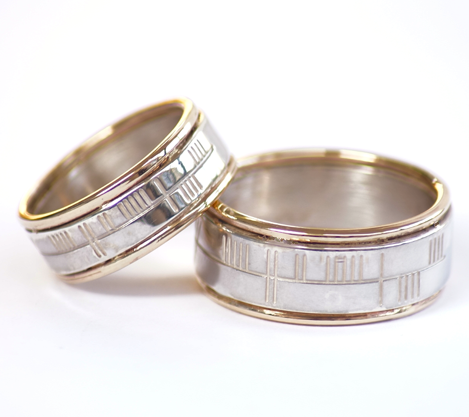 celtic mens p rings htm ogham mg wedding