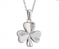 Diamond Shamrock Pendant