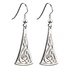 Silver Celtic Earrings