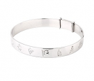 Silver Bangle for kids
