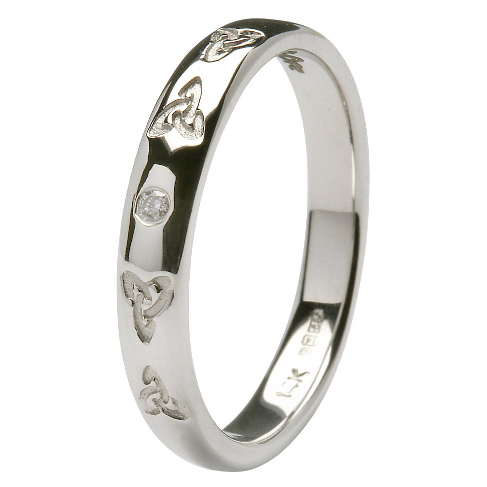 Celtic Trinity Knot Wedding Ring