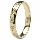 14k Celtic Trinity Ring