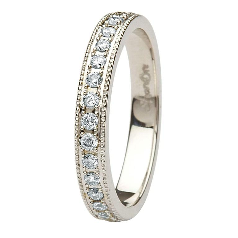 Celtic Diamond Wedding Ring | Traditional Irish Jewelry | Irish Jewel