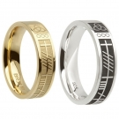 Ogham Wedding Ring