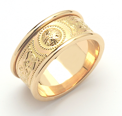 Celtic Warrior Shield Ring.