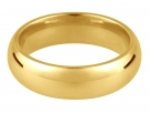 Court 9K Yellow Gold Wedding Rings